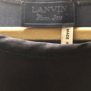 Lanvin silk gown